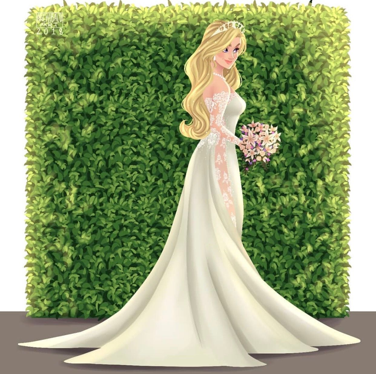 Greco archibald disney princesses x modern brides aurora
