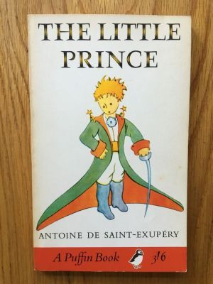 The Little Prince Sainte Exupery Antoine De Puffin Fourth Impression Of This Puffin Paperback Edition From 1 The Little Prince Book Spine Book Photography