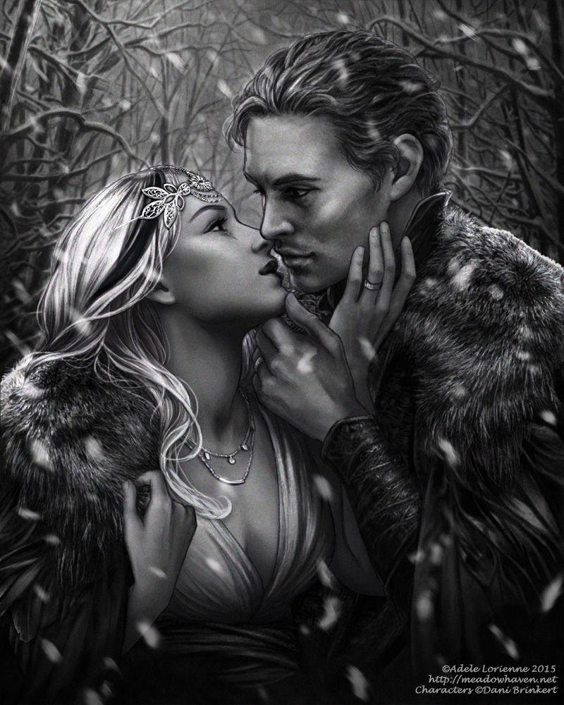 Winter Kiss by Saimain