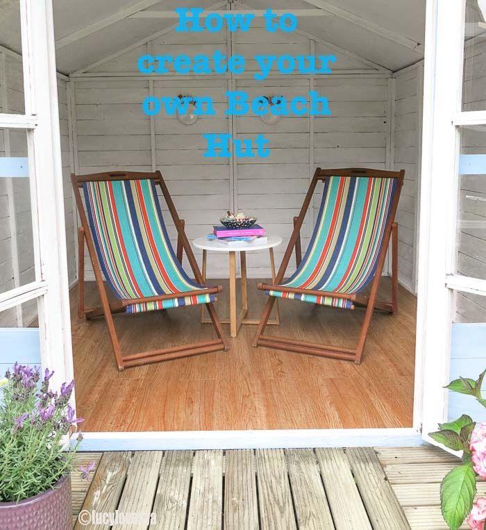 Design Your Own Exterior: Beach Hut Garden Inspiration