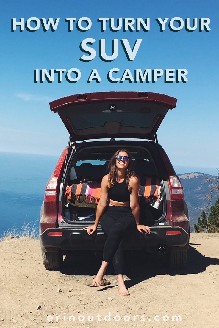 How To Turn Your Suv Into A Camper Travel Camping Minivan