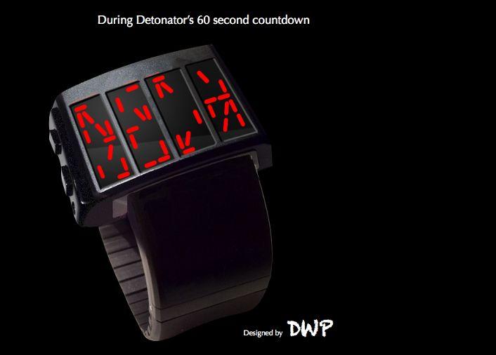 Detonator Led Watch With Predator Countdown Watches Watch