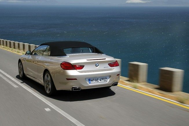 Photo: Picture 15 - 2014 BMW 6-Series Convertible
