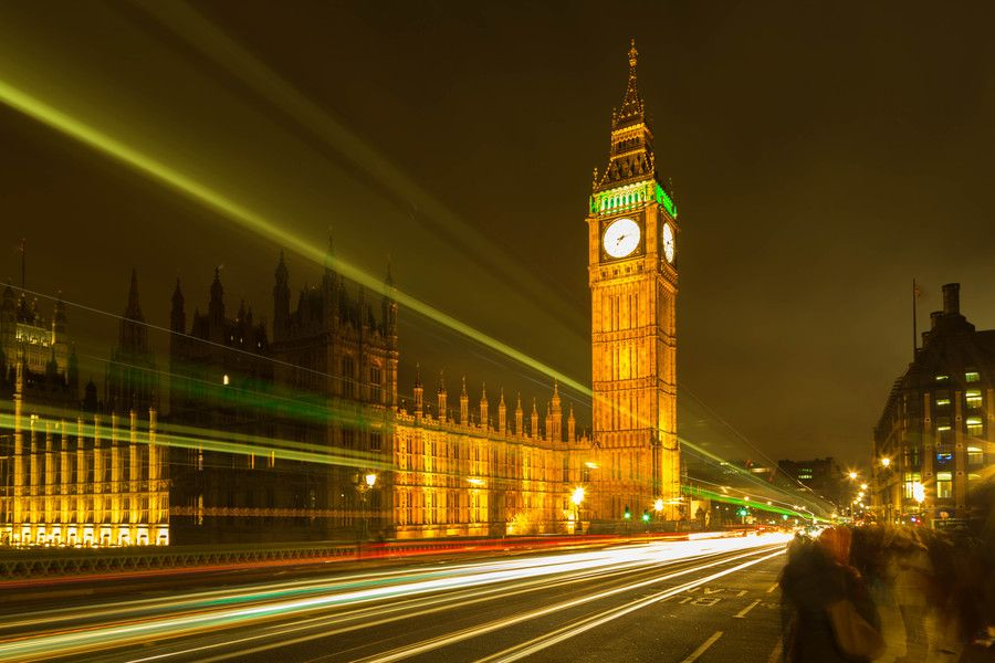 Big Ben light trails, London, England by Europe Trotter on 500px