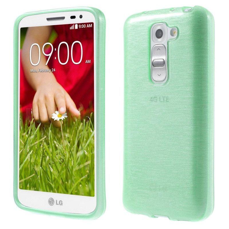 for LG G 2 mini TPU Bag Cover Black for LG G2 Mini D620 D618 Brushed Soft TPU Case