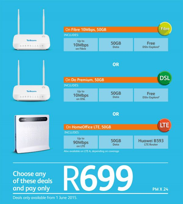 Telkom S New R699 Broadband Deal Broadband Popular News News
