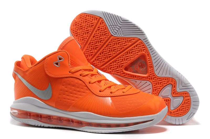 lebron 8 low. wholesale lebron 8 v2 low team orange metallic silver white on sale