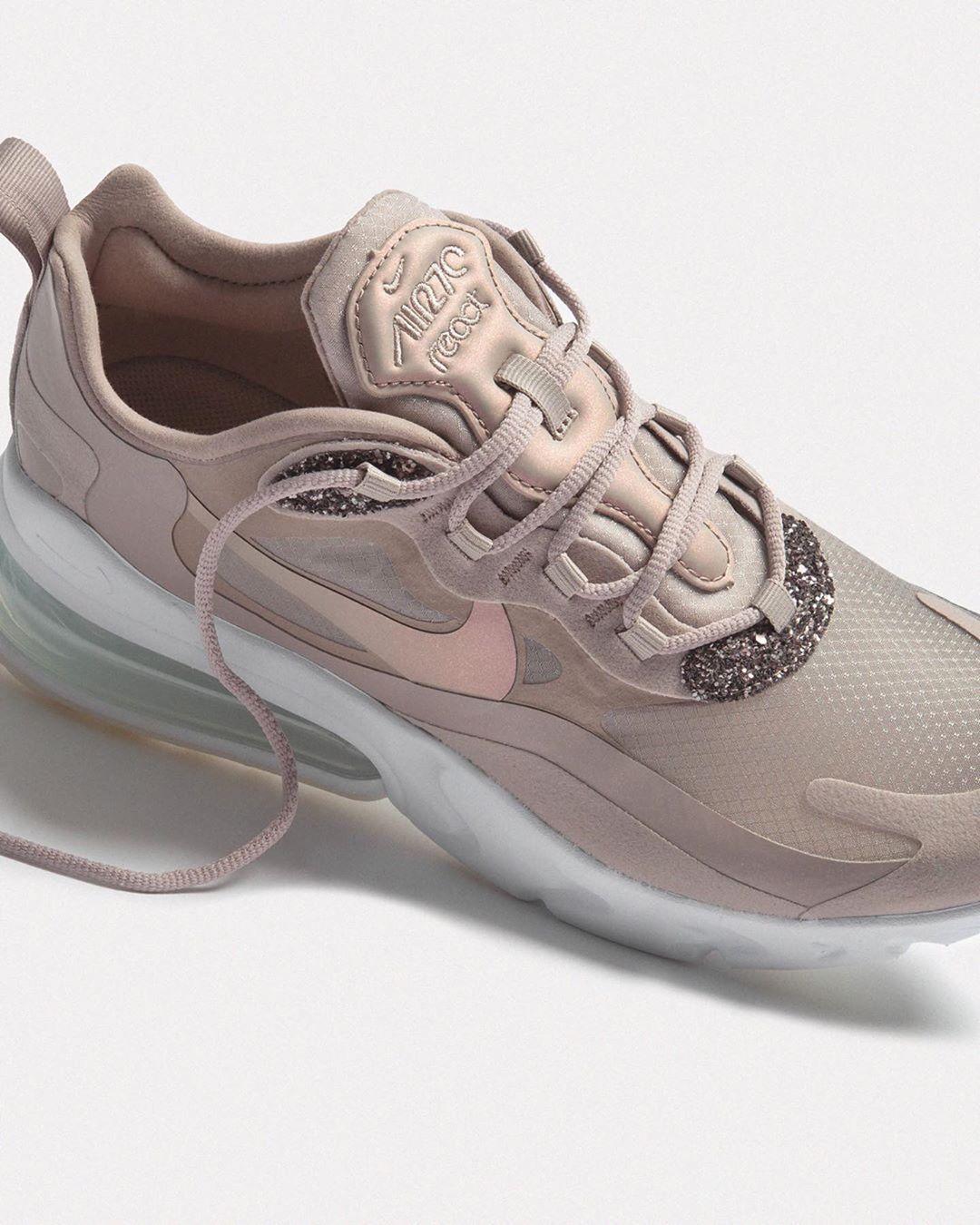 Sparkling Nike Air Max 270 React —