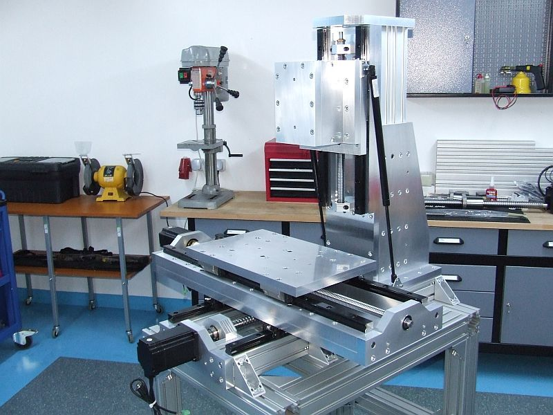 Cnc Vertical Mill Build Log Pics Page 2 Rf45 Style