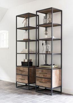 d bodhi boekenkast urban boekenkast steel furniture industrial furniture wood steel dining