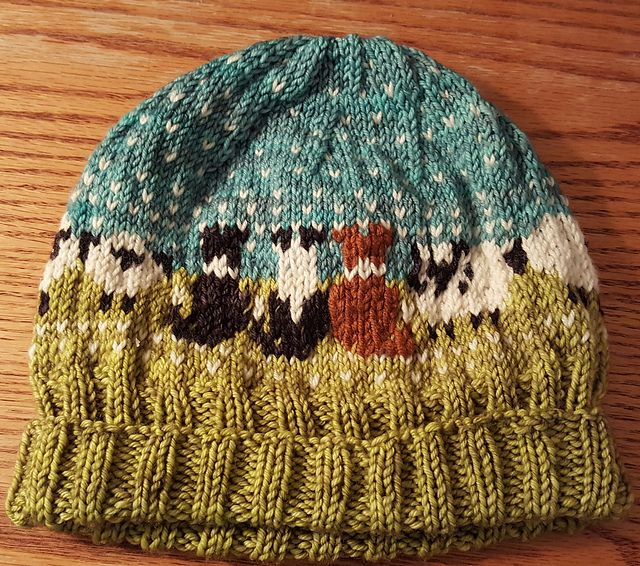 8cbe4dd9540 Ravelry  kerriecrochets  Three Guardians Baa-ble Hat Knitting Patterns  Free