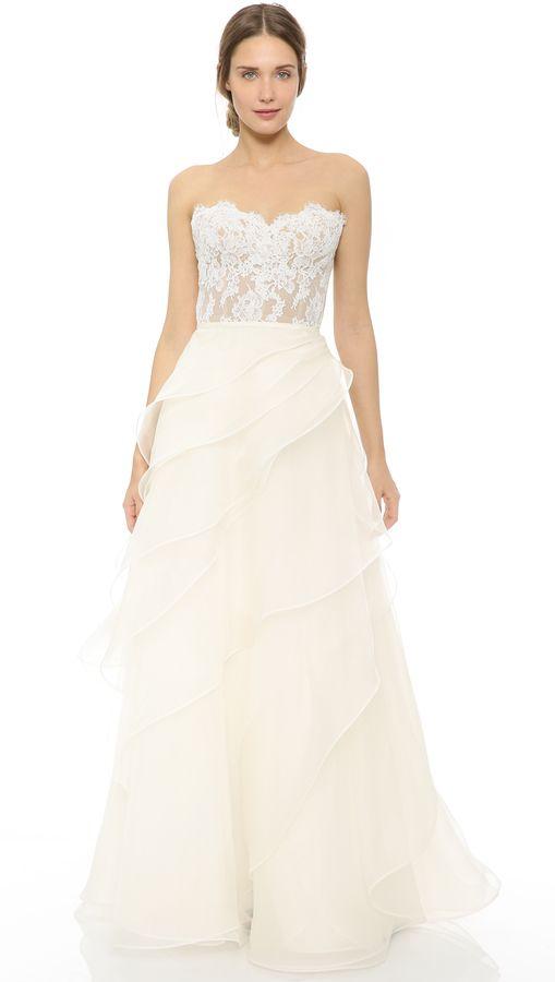 Reem Acra She\'s in Love! Wedding Dress   Spring Inspiration ...