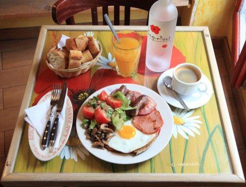 Traveller's Breakfast @coquelicot in Montmartre - it was delicious!