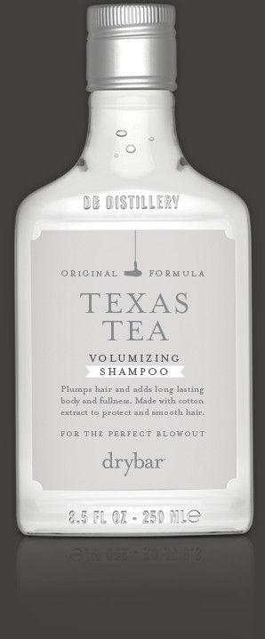 Achieve Shiny Hair With Drybar S Texas Tea Volumizing Shampoo Tea Shampoo Shampoo Volumizing Shampoo