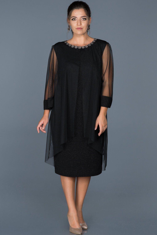 Siyah Simli Buyuk Beden Abiye Elbise Abk210 Elbise Elbise Modelleri The Dress