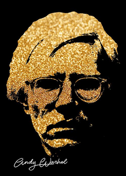 Andy Warhol portrait poster  #andywarhol