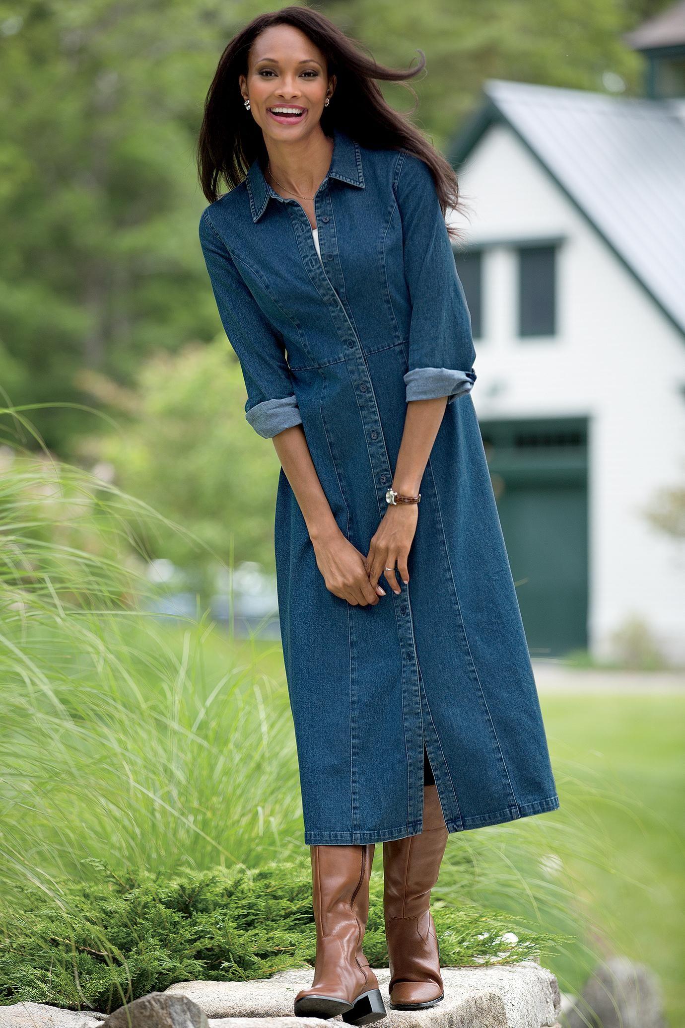 10  images about denim shirt dress on Pinterest - Ralph lauren ...