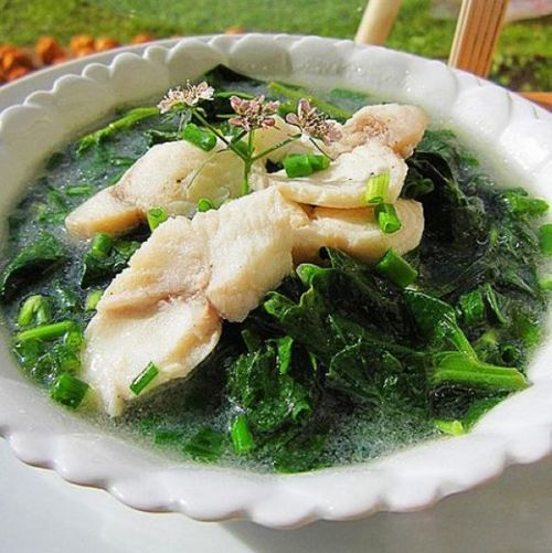 Chinese fish fillet soup with goji leaves chinese food recipes chinese fish fillet soup with goji leaves forumfinder Image collections