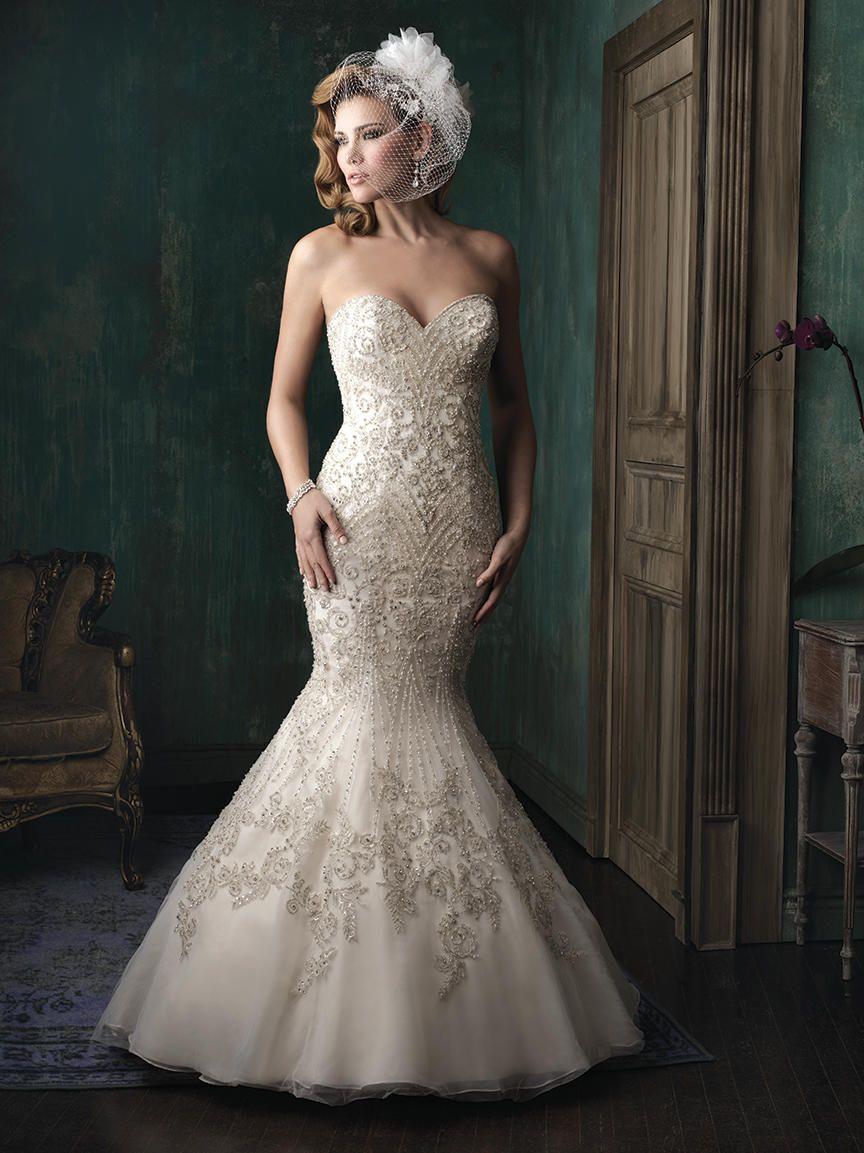Allure Bridals Couture Dress C348 | Terry Costa | Wedding Dresses ...