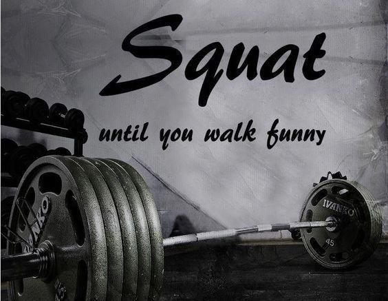 Fitness Motivation Home Gym Wall Decal - hocken, bis Sie lustig gehen #fitnessMoti ..., #decal #fitn...