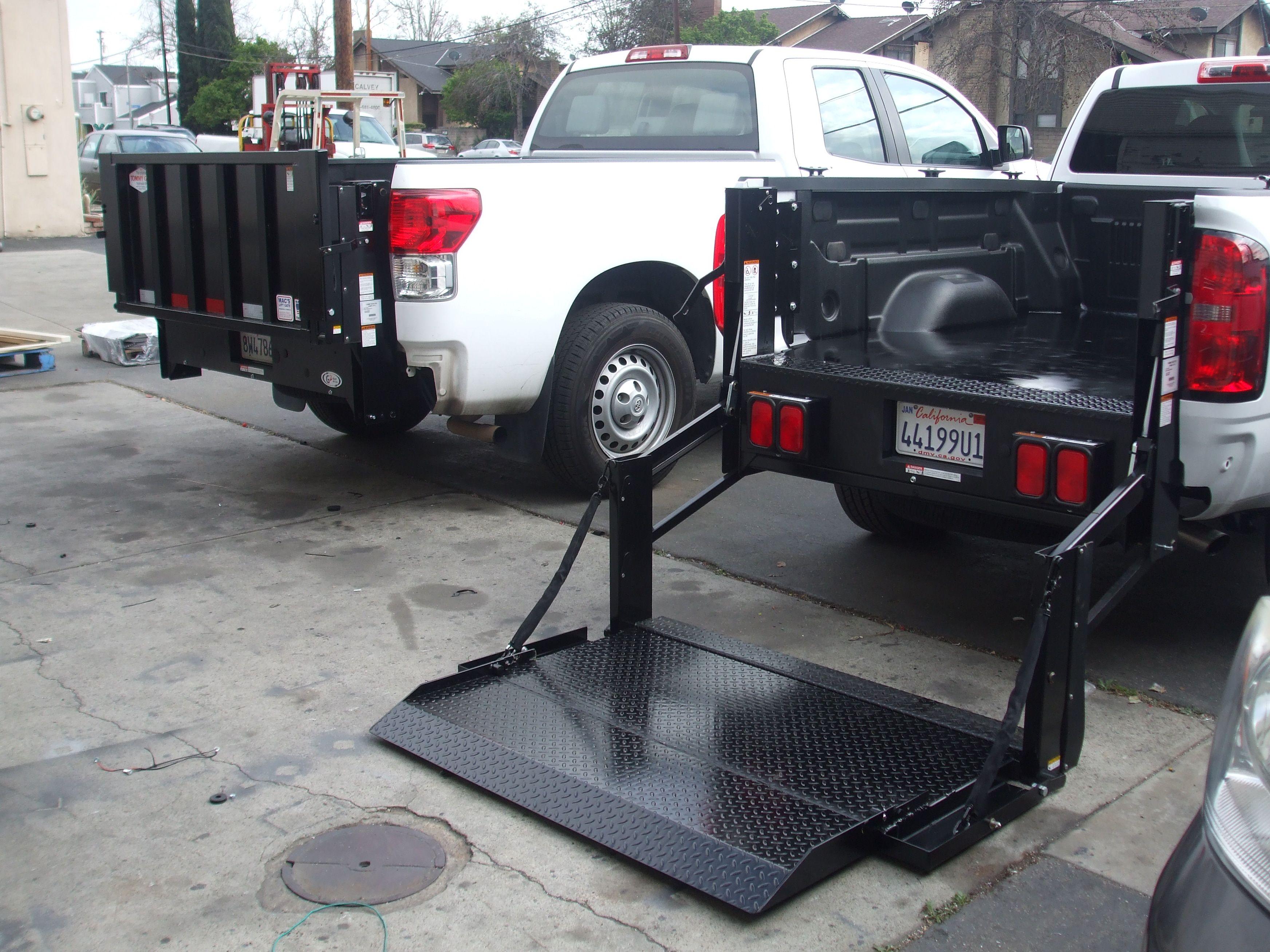 Tommy Gate Installed By Mac S Lift Gate In Long Beach Ca Mini Trucks Truck Bed Car Lifter