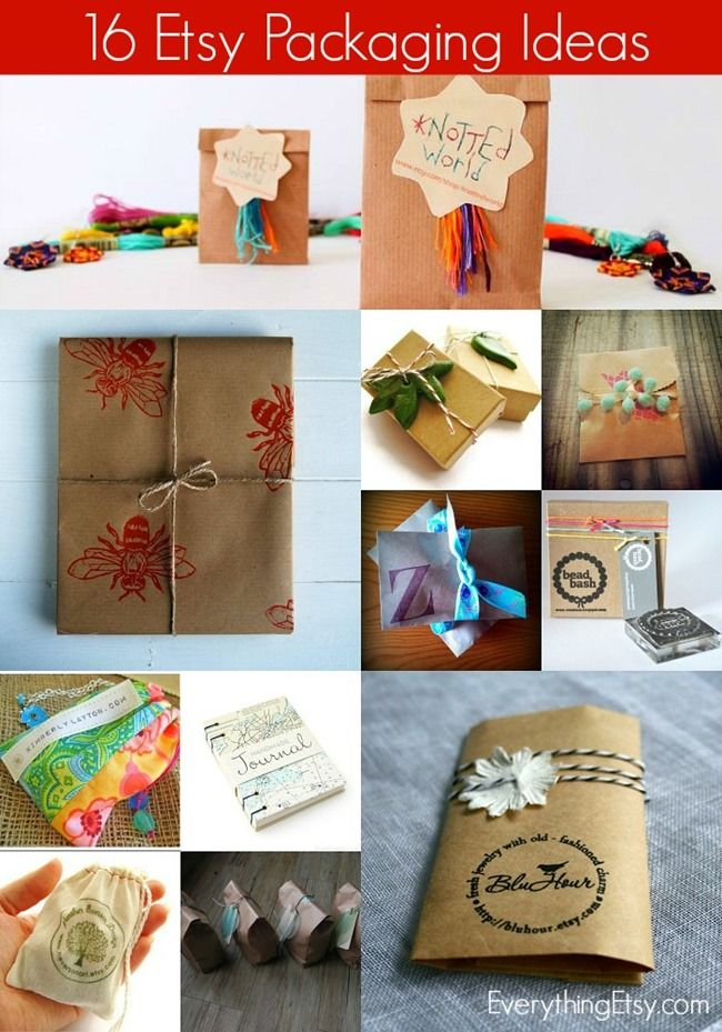 16 Packaging Ideas For Etsy Sellers Everything Etsy Etsy