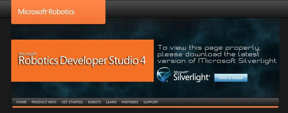Microsoft robotics developer studio development