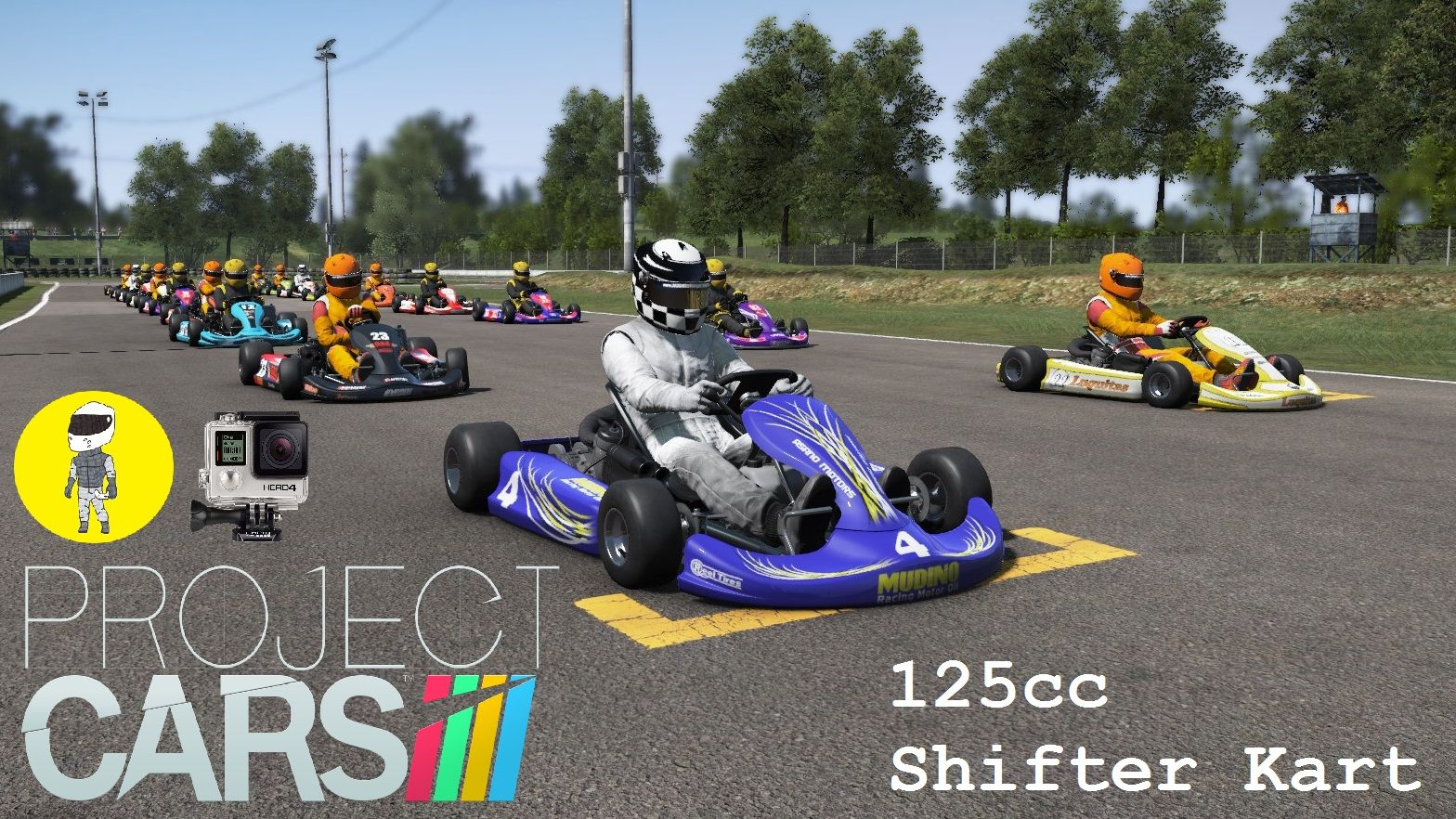 Project Cars - 125cc Shifter Kart @ CHESTERFIELD (TH300RS, GoPro ...