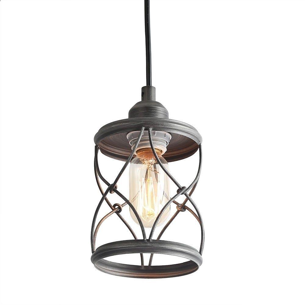 geometric mini pendant light # 41