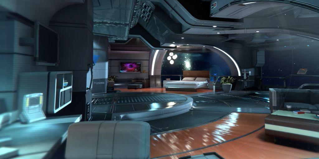 Épinglé par Mathane Ambreluth sur JDR | Intérieur futuriste, Vaisseau spatial, Architecture ...