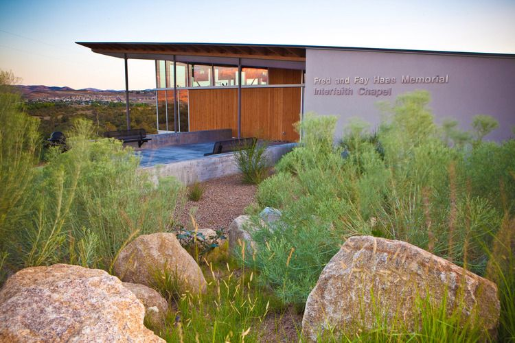Haas Chapel At Embry Riddle Aeronautical University, Prescott, Arizona. All  Rights Reserved. Design Architect ...
