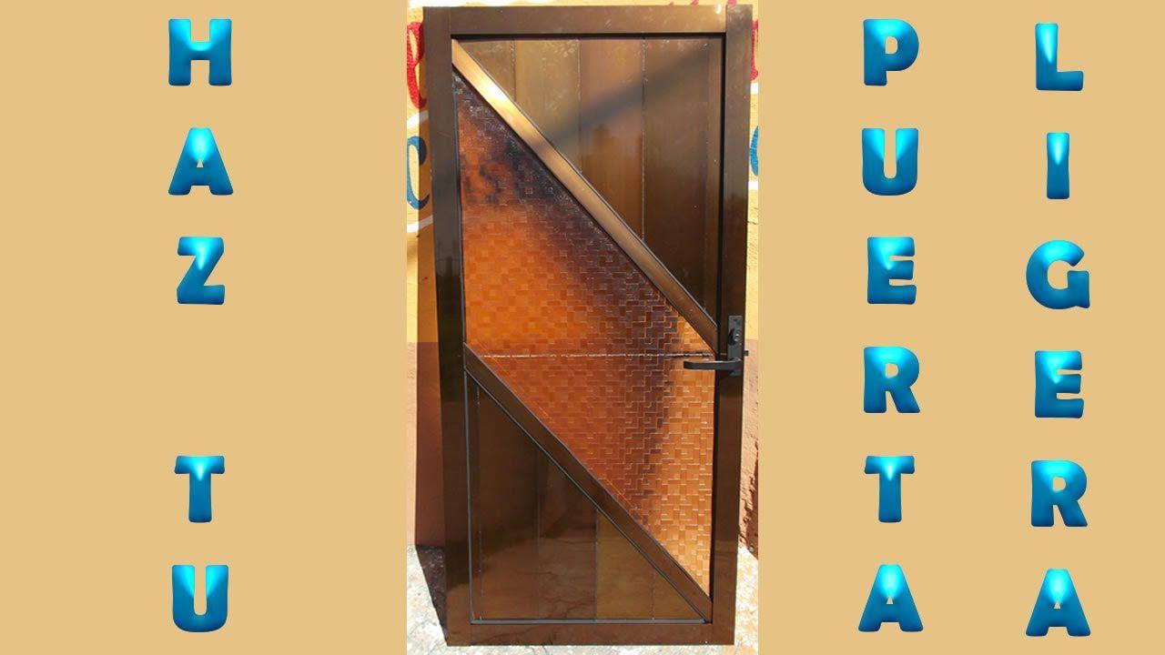 Como Fabricar Una Puerta De Madera Excellent Cmo Fabricar Una