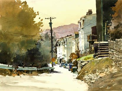 Bill Vrscak Watercolor Artist Illustrator And Instructor In