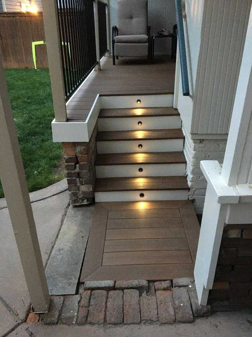 Best Recessed Led Riser Light With Shade By Deckorators Deck 400 x 300