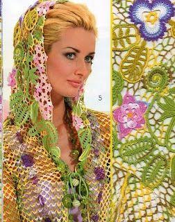 Irish crochet. Russian designers