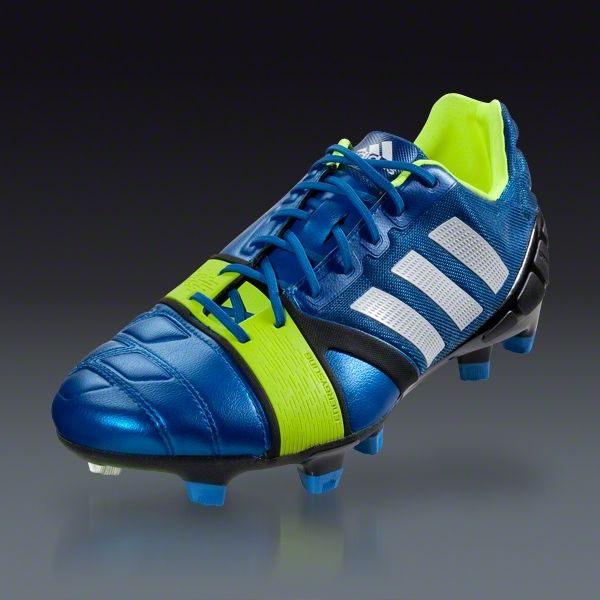 free shipping 974ba c6b1c adidas Nitrocharge 1.0 TRX FG - Blue Beauty Running White Electricity Firm  Ground Soccer Shoes    SOCCER.COM ~