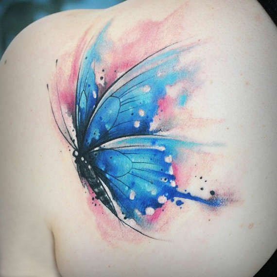 25 Tatuajes De Mariposas Que Simbolizan Una Metamorfosis Lista - Mariposas-tatuaje