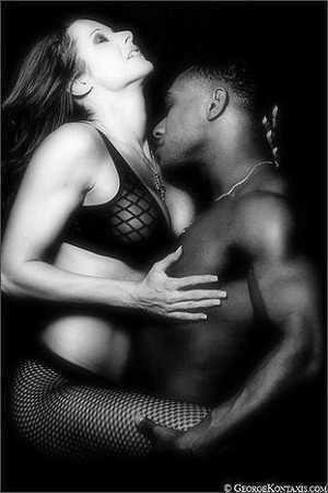 Delightful erotic biracial couple photos consider, that