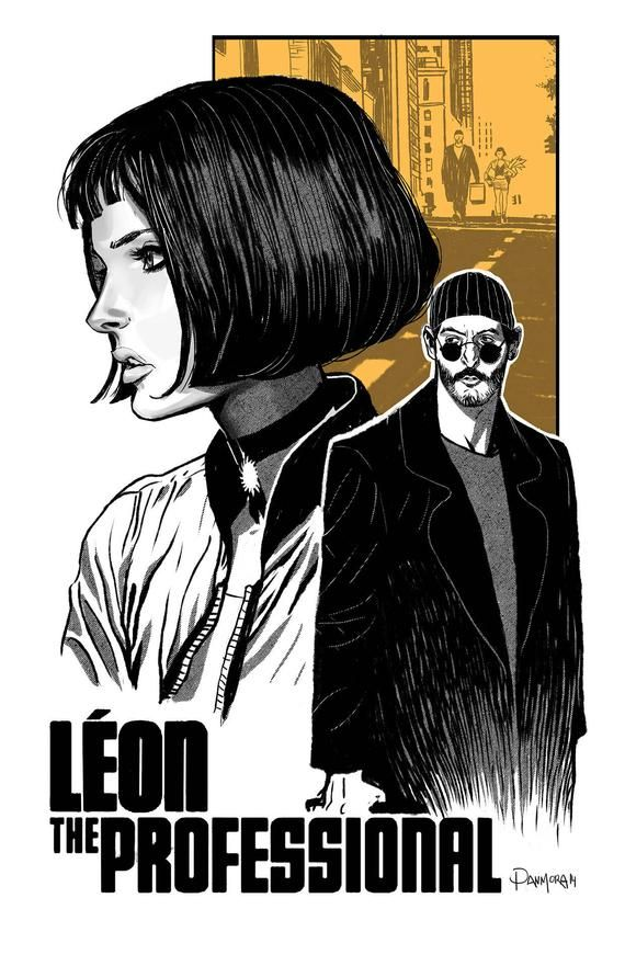 Leon Art Movie Poster - Canvas Printing (High Quality - Available in many sizes) - Gifts #filmposters