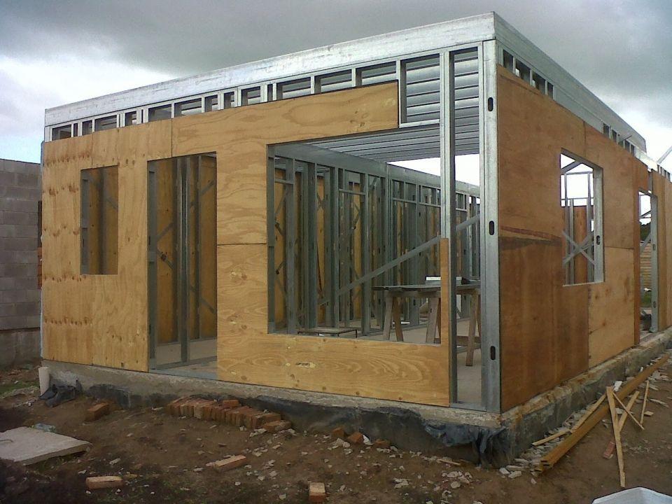 Hice mi casa en steel framing y quiero compartirlo - Quiero ver casas prefabricadas ...