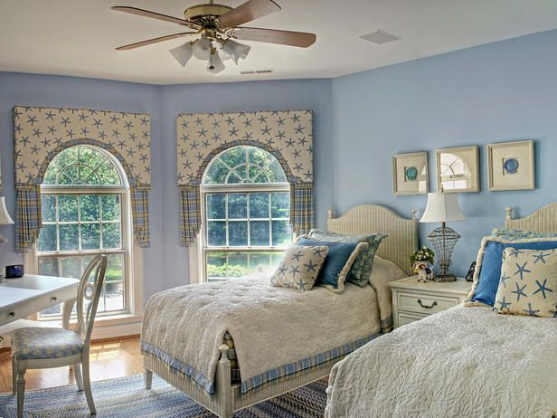 Starfish Accessories - Coastal-Inspired Bedrooms on HGTV