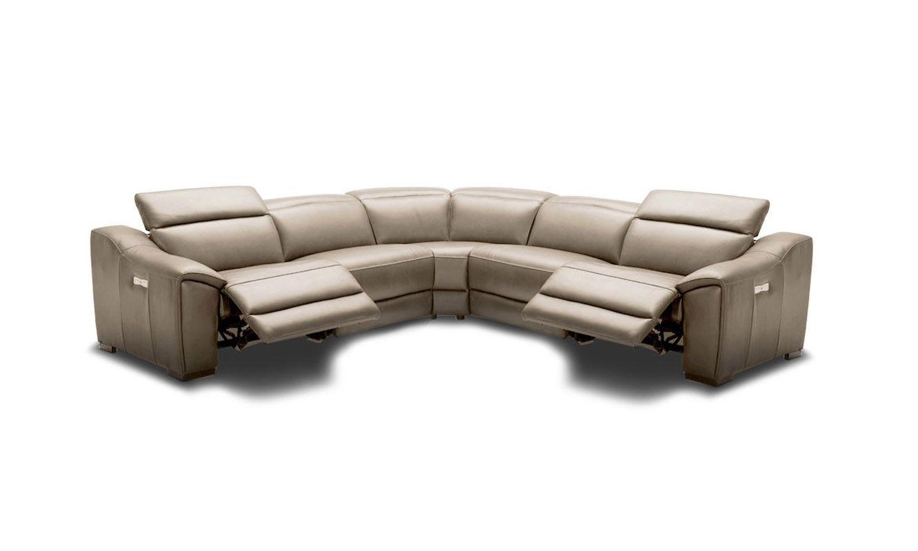 Advanced Adjustable Corner Sectional L Shape Sofa Leather