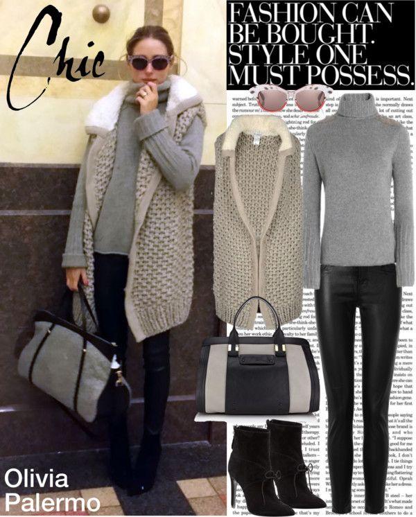 """Olivia Palermo Street Style"" by cherryrose22 on Polyvore"