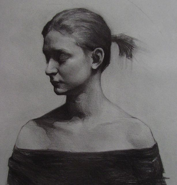 Hunter Eddy (charcoal on paper)