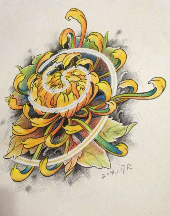 pin von joh sch auf tat pinterest japanische ganzarm tattoos ganzarm tattoos und chrysanthemen. Black Bedroom Furniture Sets. Home Design Ideas