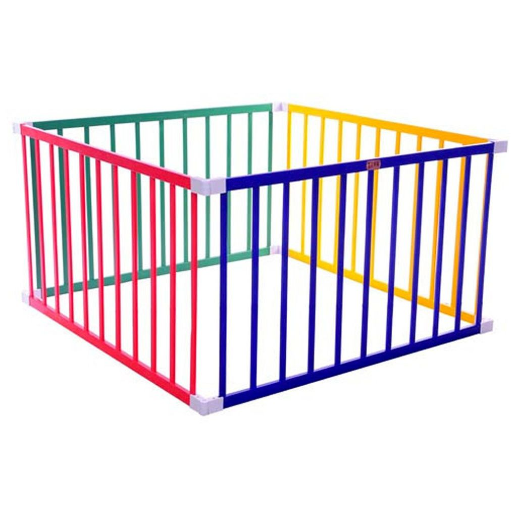 SQUARE BOSS PLAYPEN COLOURFUL