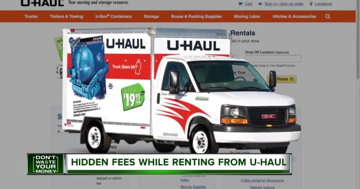 Millions Of Americans Rent A U Haul Truck Every Year Lured By Its Advertised Price Of 19 A Day For Local Rentals Uhaul Truck U Haul Truck Rental