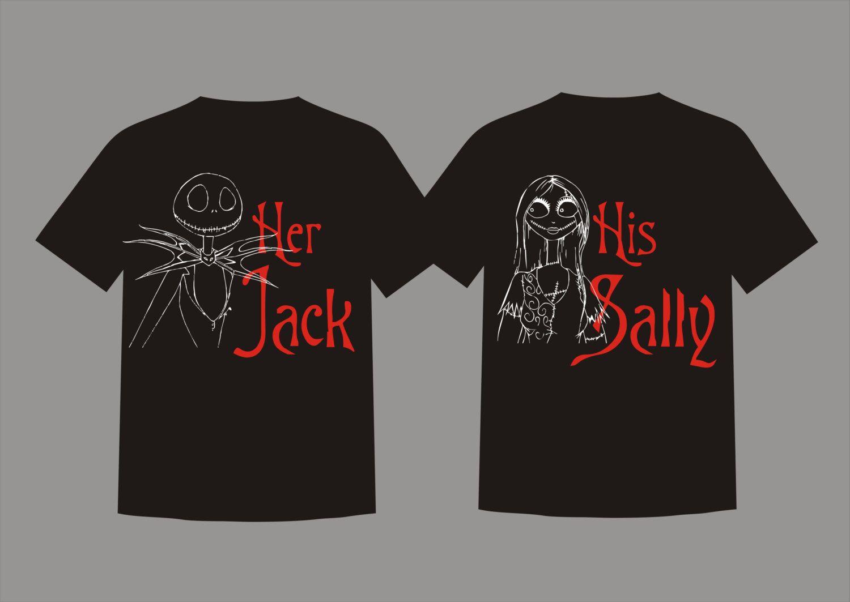 Custom Jack Skellington and Sally Nightmare Before Christmas Disney ...