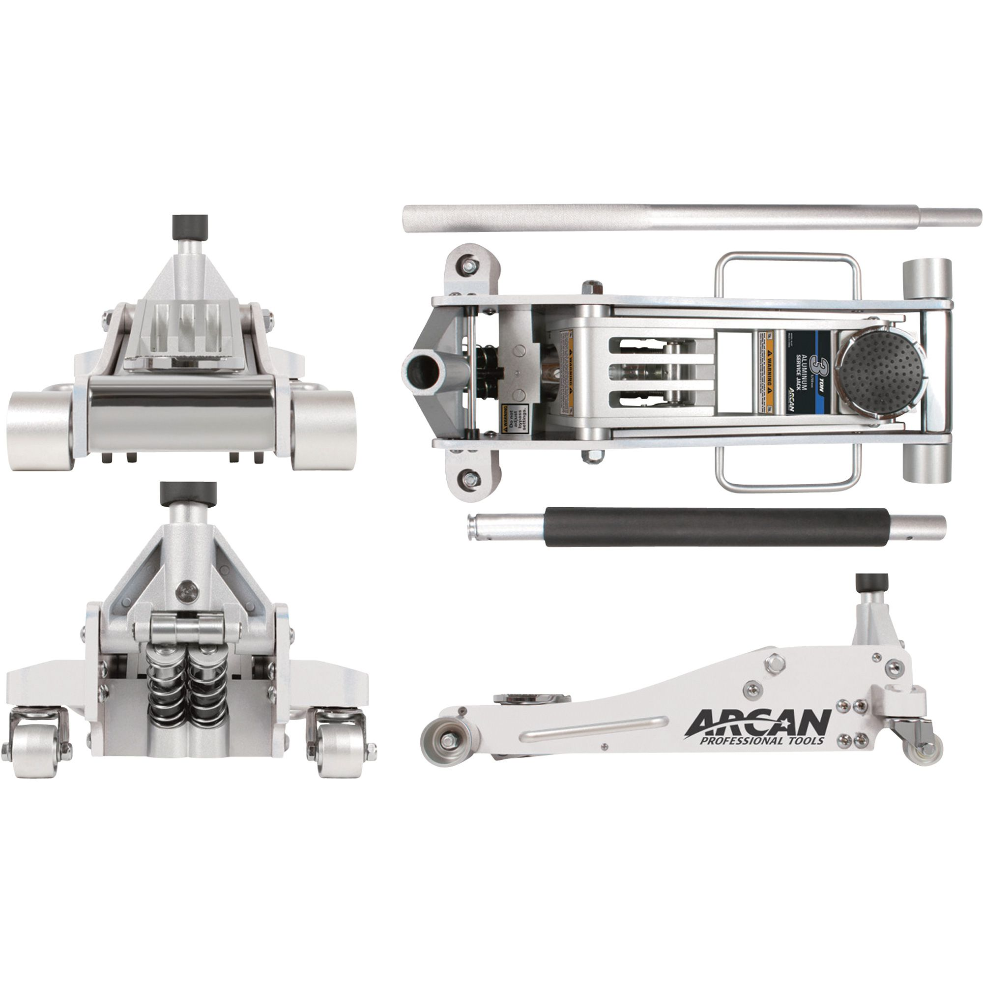 Blackline By Arcan 3 Ton Aluminum Quick Rise Low Profile Service