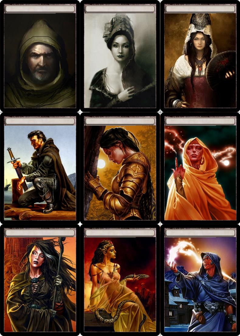 Face cards Face, Adventure, Cards